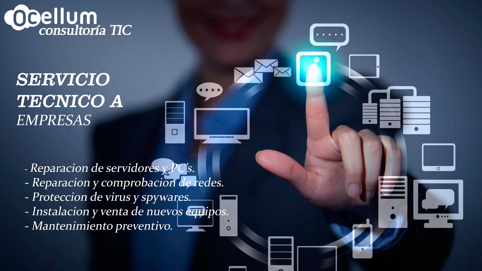 servicio de atencion tecnica a empresas